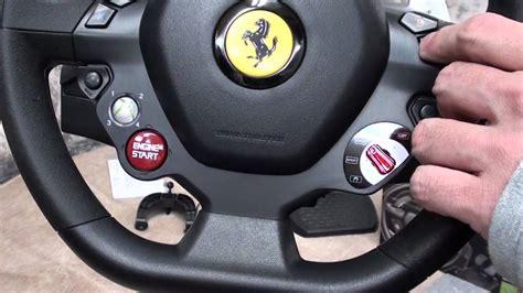 f458 italia racing wheel 458 italia racing wheel for xbox 360