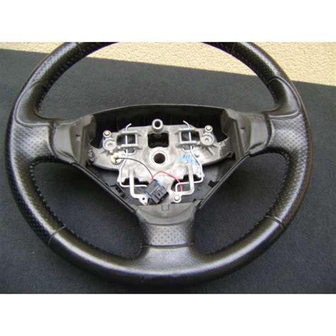 volante peugeot 206 volant cuir noir sport 3 branches peugeot 206