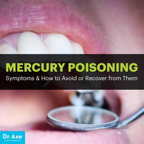 Arsenic Detox Symptoms by Mercury Poisoning Symptoms Causes Remedies Dr Axe