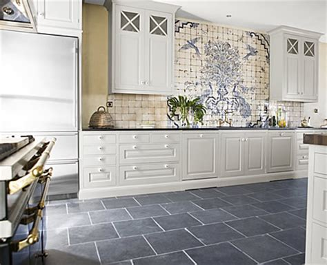 Gray Tile Kitchen Floor Slate Floor Kitchen Interiorly
