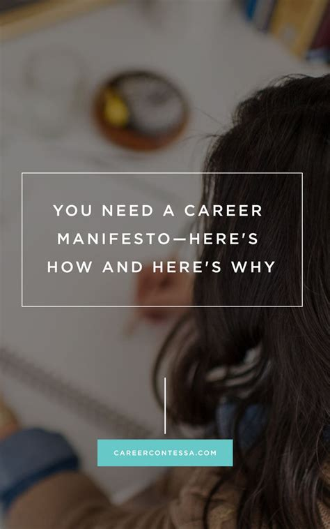 the career manifesto discover your calling and create an extraordinary books 17 best images about career goals on gloria