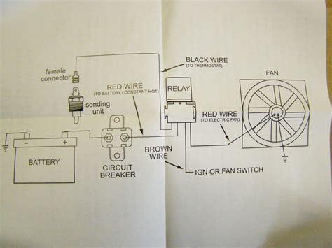 30 relay wiring diagram electric fan wiring diagrams