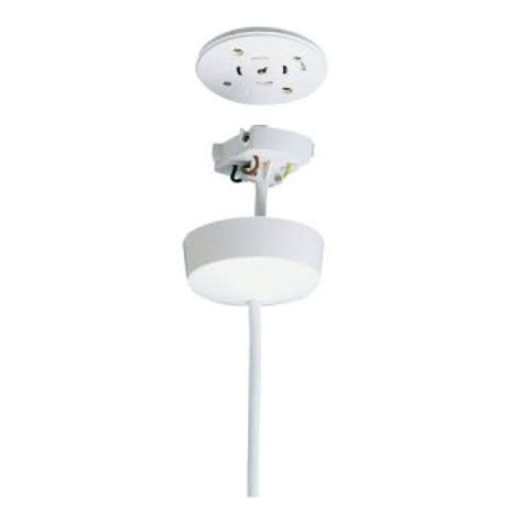Ceiling Plugs by Eterna Cr10pw Pre Wired In Ceiling