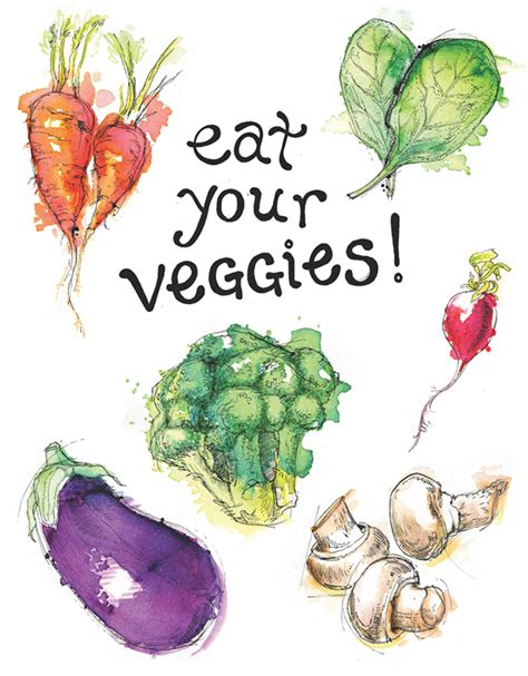 94 vegetables you eat eat your veggies on behance