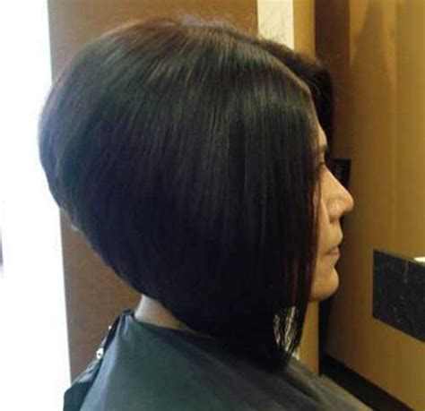 dramatic short back long front bob dramatic a line bob back view www imgkid com the image