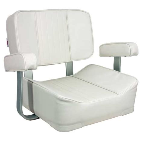 captain boat seats springfield deluxe captain s seat white west marine