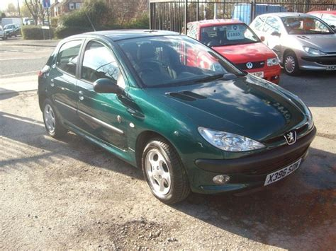 peugeot green peugeot 206 review and photos