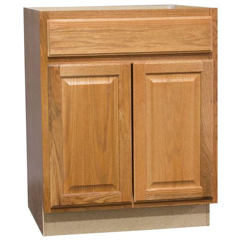 unfinished oak kitchen cabinets home depot assembled 60x34 5x24 in sink base kitchen cabinet in