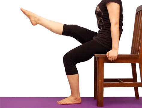 Leg Exercises Sitting At Desk How To Tone Legs While Sitting 7 Steps With Pictures