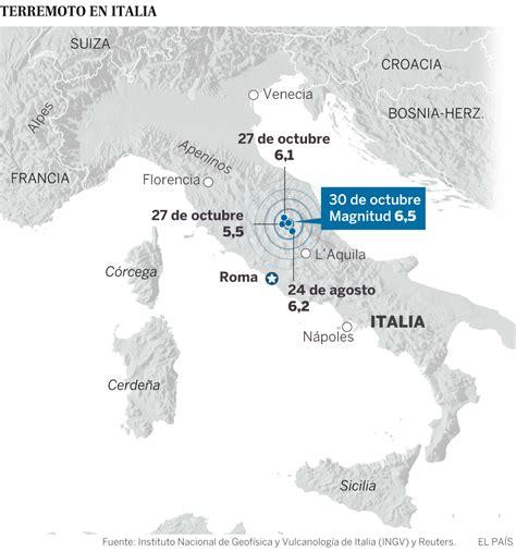 el pas donde florece un fuerte terremoto sacude el centro de italia internacional el pa 205 s