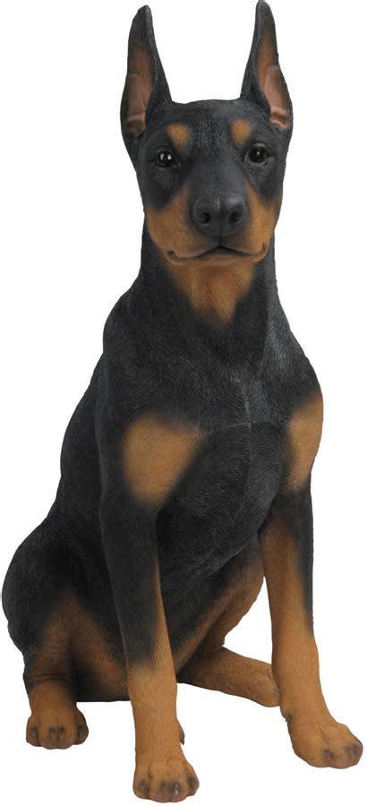 doberman pinscher dog statue  natures gallery