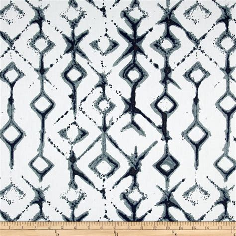 tribal pattern material premier prints tribal vintage indigo discount designer