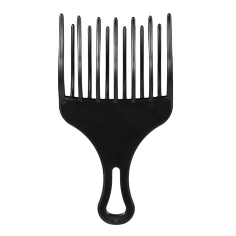 afro styling tools 1pc hair comb insert afro hair pick comb hair fork comb
