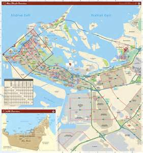 map of dubai and abu dhabi abu dhabi city map