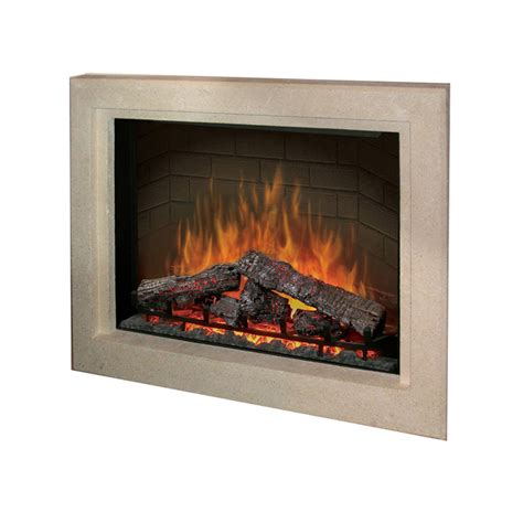 Flush Electric Fireplace by Dimplex Electric Fireplaces 187 Mantels 187 Products 187 33 Quot Picture Frame Surround Flush Mount
