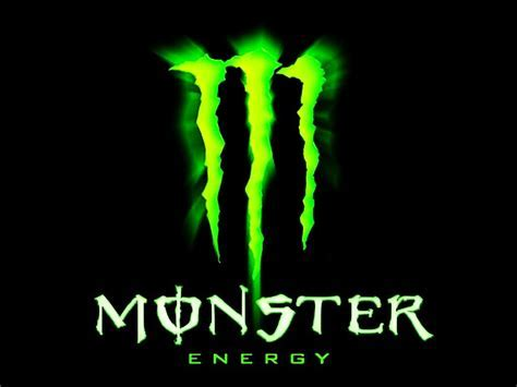 Fond d? écran logo Monster Energy