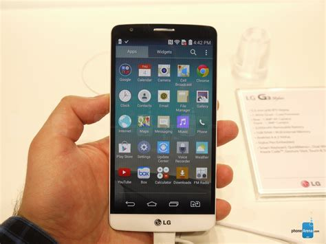 LG G3 Stylus hands on   PhoneArena reviews