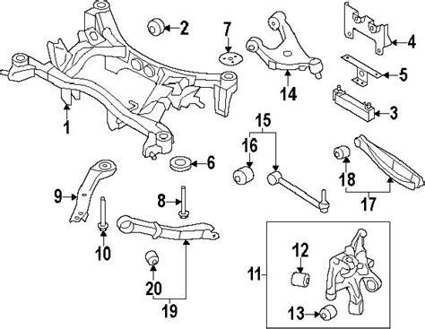oem fg fg suspension rear control armrodlateral link  subaru impreza