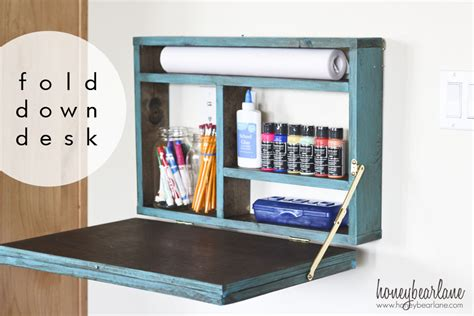 fold desk hardware painted fold desk honeybear