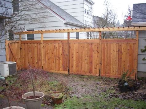 26 Best Fencing Ideas To Share Images On Pinterest Fence Pergola Designs