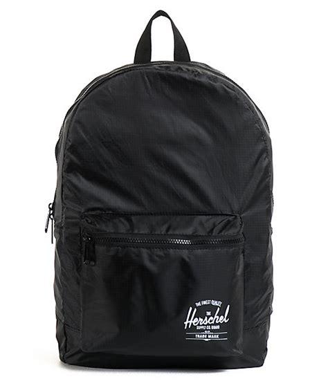 Herschel Packable Daypack Abu Abu herschel supply packable daypack black backpack