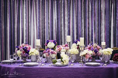 purple and silver wedding decorations living room