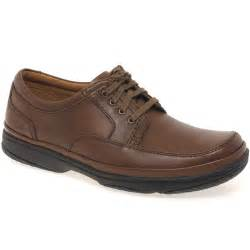 Clarks Shoes Clarks Mile Mens Casual Brown Lace Up Shoes Clarks