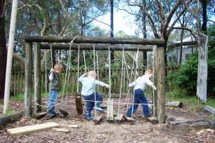 let the children play how to create a outdoor