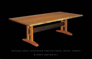 free woodworking plans for trestle tables online