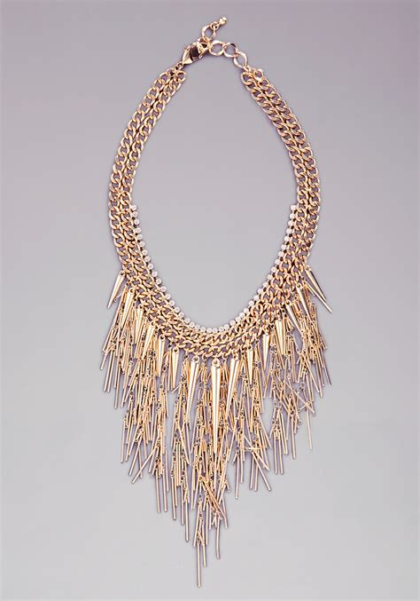 Bebe Draped Body Chain In Gold Lyst