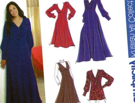 pattern dress long dress patterns for plus size pluslook eu collection
