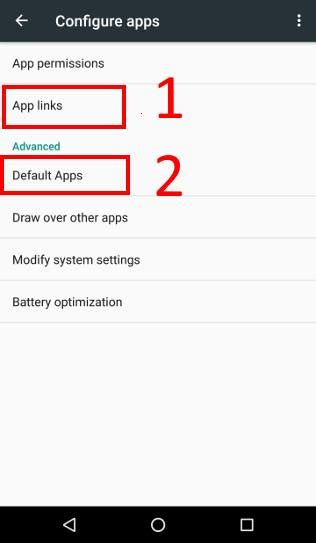 reset android default apps how to manage use and reset default apps in android