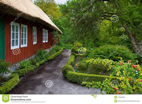 traditional swedish house plans traditional swedish house in skansen stock photography image 14525592