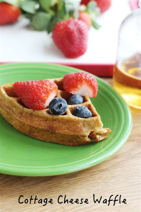 Cottage Cheese Waffle Recipe by Cottage Cheese Waffle Recipe