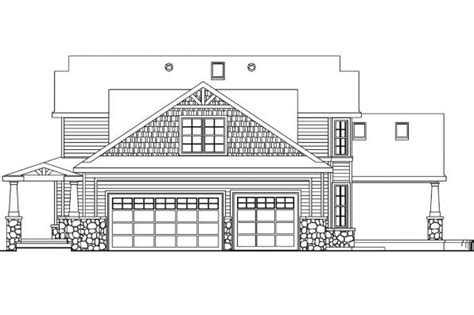 bungalow floor plan with elevation craftsman house plans tillamook 30 519 associated designs