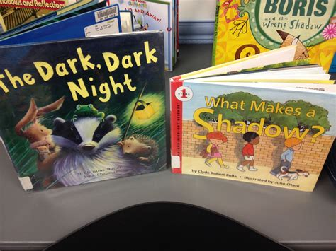 in the shadows books preschool shadow science alsc