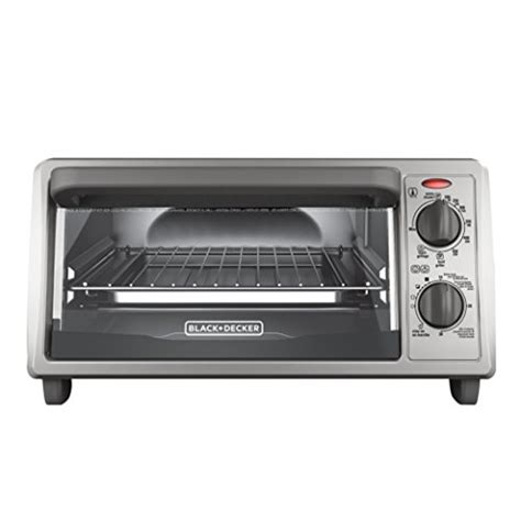 Black And Decker Toaster Oven To1322sbd black decker 4 slice countertop toaster oven stainless steel silver to1322sbd dads meals