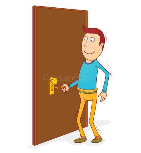 abrir imagenes jpg large abrir la puerta ilustraci 243 n del vector ilustraci 243 n de