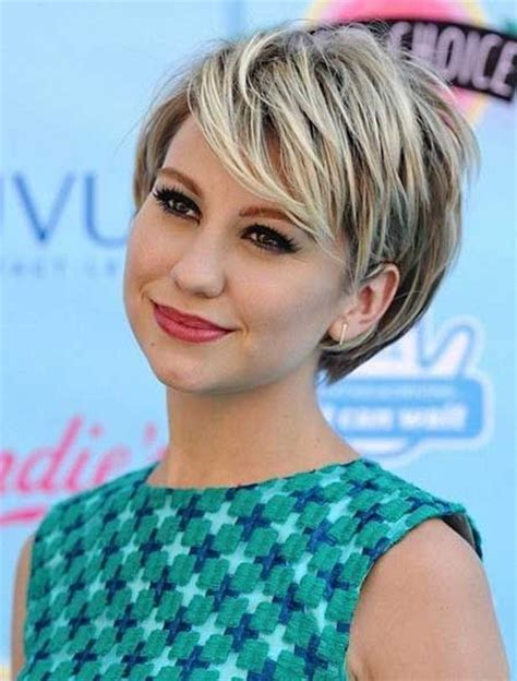 short hairstyles 2015 for full faces 30 best short hairstyles for round faces women