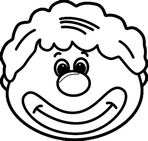 clown coloring pages wecoloringpage