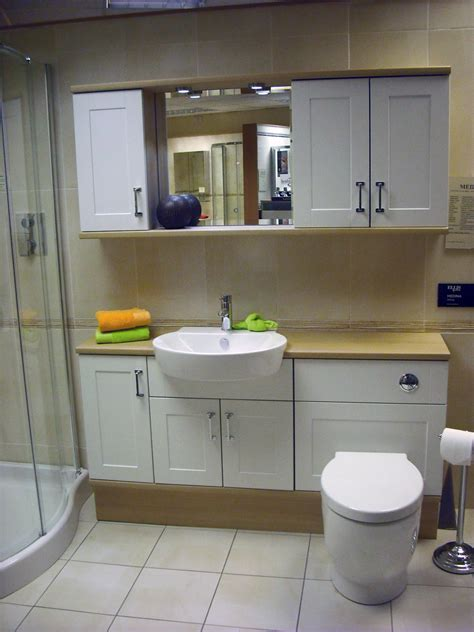 Medina White Fitted Furniture Best Kitchen Bathroom Bathroom Fitted Furniture Uk
