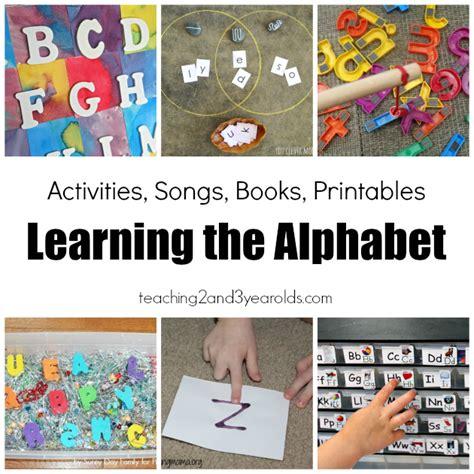 27 awesome ways to teach the alphabet