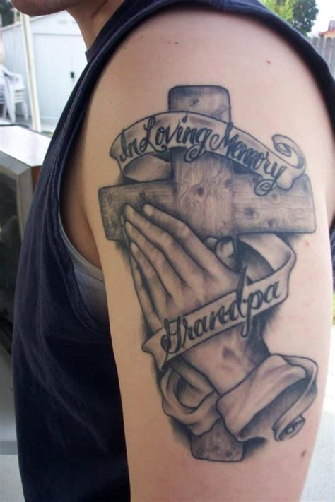 tattoos in hand for men praying tattoos for ideas and designs for guys