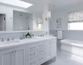 White Tile Bathroom Design Ideas by White Double Bathroom Vanity Blue Mosaic Tiles Backsplash