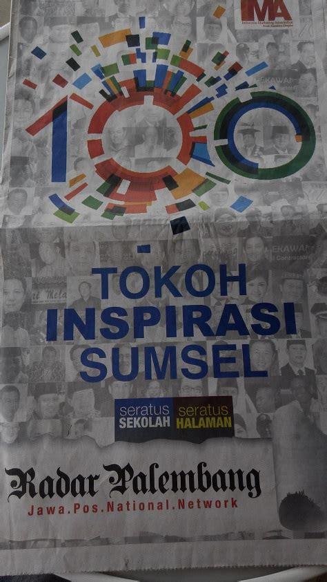 Pempek Sumsel pempek lince masuk 100 tokoh inspirasi di sumsel