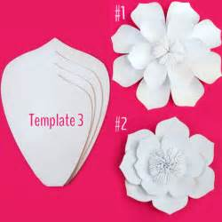 Paper Flower Template by Paper Flower Template Diy Kit Sale