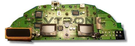 volvo  cluster repair  dim instrument panel repair