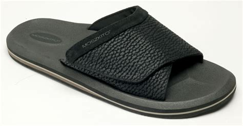 mens sandals with arch support moszkito coast s arch support sandals black