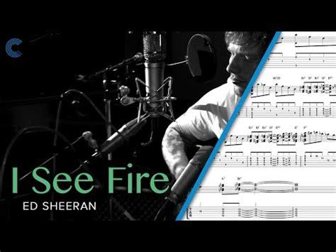 ed sheeran hobbit free mp3 download sheet music chords and more marimba i see fire the