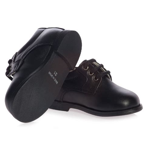 boys leather oxford shoes children s classics boys black leather lace up oxford